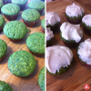 St. Patrick's Day Green Cupcakes