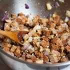 Gluten Free Apple Stuffing