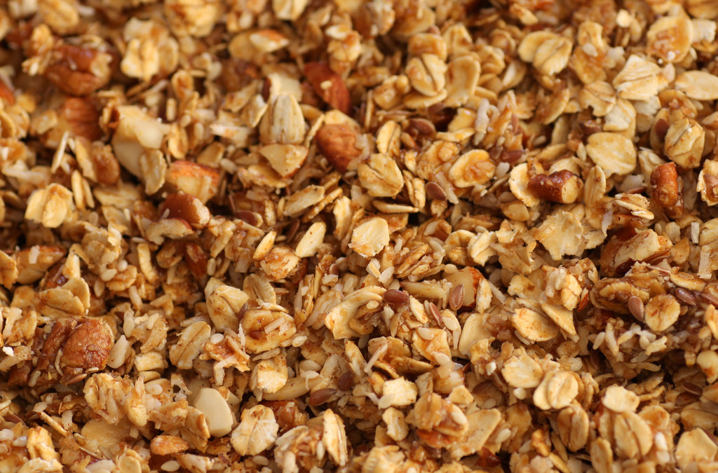 Homemade Hearty Granola