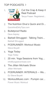 Cut the Crap & Keep it Real Podcast #1 on iTunes