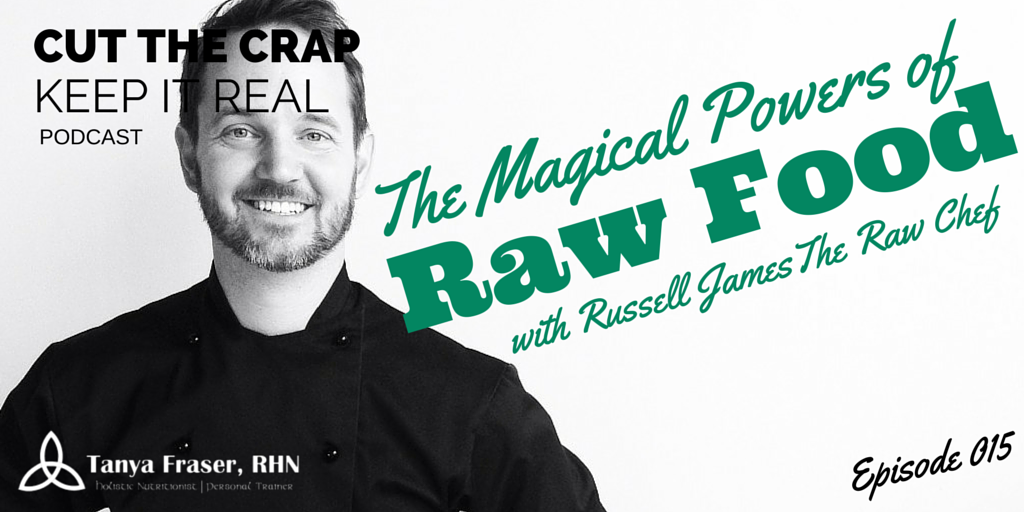 CTC015 – The Magical Powers of Raw Food with Russell James The Raw Chef