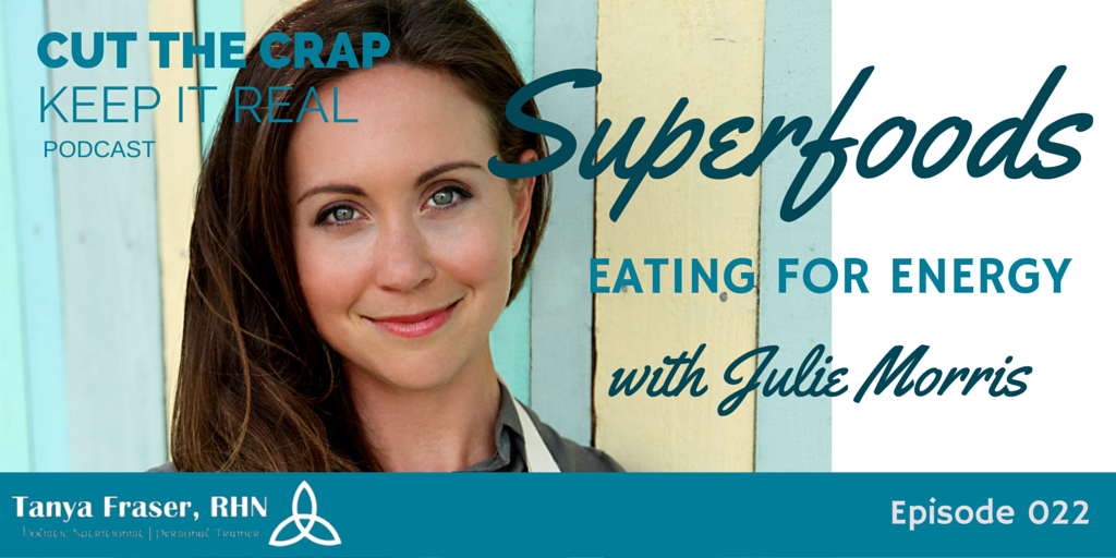 CTC022 – Eating for Energy with Superfoods with Julie Morris