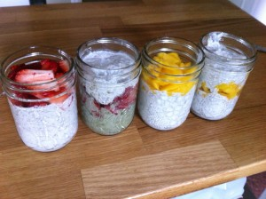 Chia Puddings - Tanya Fraser, RHN