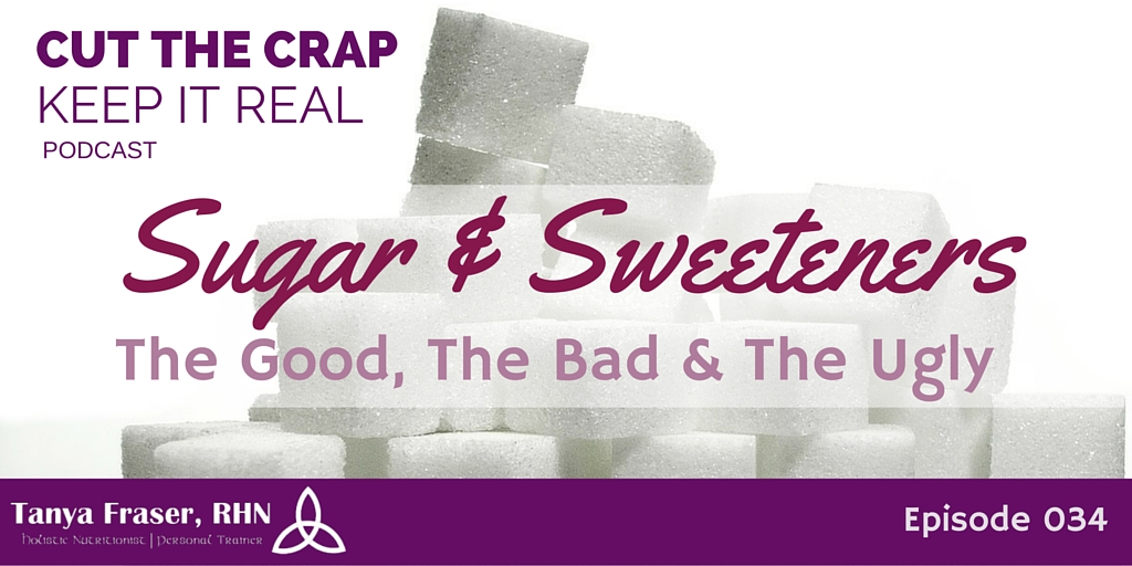 CTC034 – Sugar & Sweeteners: The Good, The Bad & The Ugly