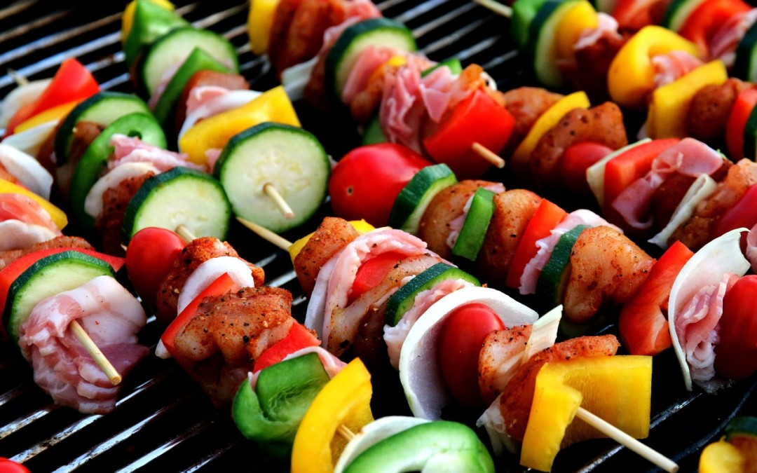 Chicken Mango Kebabs