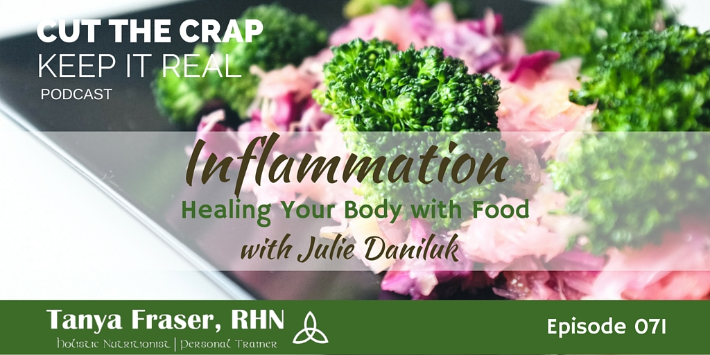 CTC071 – Inflammation with Julie Daniluk